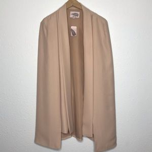 Forever 21 Contemporary Blush Cape Blazer XL
